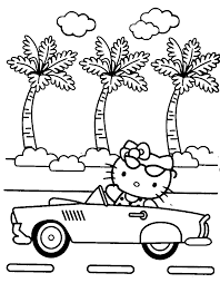 Hello Kitty Printables Free Coloring Pages