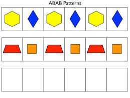 Abc Pattern New Pattern Block Mats And Linking Cube Mats For Practicing Making