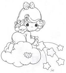 Small Picture Precious Moments Angels Coloring Pages Crafts Pinterest