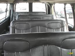 2001 Chevrolet Express 3500 LS Extended Passenger Van Interior ...
