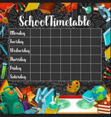 Chart Timetable Vector Images Over 840