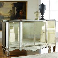 Modern History Home Mirrored Sideboard