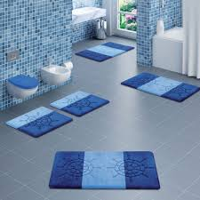 home ideas unconditional modern bathroom rugs cool bath for design with blue color schemes from