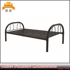 china modern bedroom furniture metal steel bed s china single bed military bed