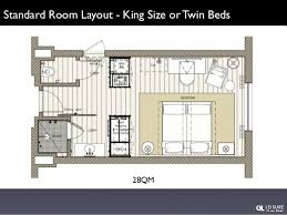 40 qm luxury room layout king size or twin beds sleeper couch for two children 31 luxury hotel room layout o32 room