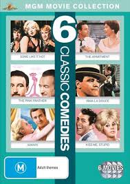 Classic Comedies Some Like It Hot The Apartment Pink Panther