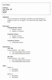 College Resume Enchanting Resume Example For College Student 60 College Resume Template Sample