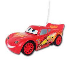 Ô tô đồ chơi điều khiển từ xa mô hình xe đua Disney Cars Lightning McQueen  màu đỏ chạy pin cho bé trai tốt giá rẻ