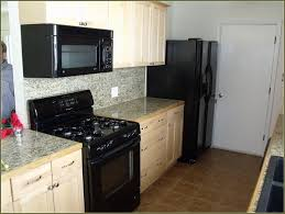 Black Kitchen Appliance Package Black Kitchen Appliances Packages White Wall Mounted Storage