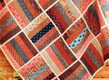 Free Quilt Patterns Archives - Quilting Digest & Finish This Easy Quilt Quickly with Quilt-As-You-Go Adamdwight.com