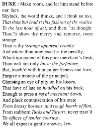 Merchant of Venice Workbook Answers Act 4, Scene 1 - A Plus Topper