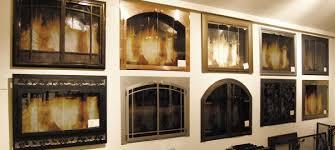 portland fireplace doors