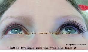 cosmetic tattoo eyeliner eyelashes microblading