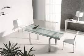Modern glass office desk Elegant Glass 6386 Officedeskcom 6386