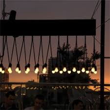 beautiful outdoor lighting by pslab for iris a rooftop bar in beirut beautiful outdoor lighting