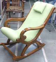wooden rocking chair.  Rocking Brown Wooden Rocking Chair For C