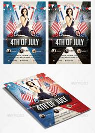 4Th Of July Flyer Templates: 20 Best Psd & Vector Templates For 2018