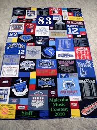 Graduation Gift Idea: A T-Shirt Quilt | SnugasaBugBaby & The back is a micro plush blanket that I bought at Target and cut to the  same size (it is super soft!!!). The final dimensions of the quilt were 66  inches ... Adamdwight.com