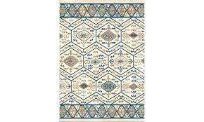 tribal area rug pastel rugs soft modern