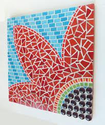 Mosaic Wall Art DIY Made of Broken Tiles