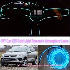 diy ambient lighting. Wonderful Lighting For Vw Volkswagen Touareg  Diy 9 Meters 12v Car El Cold Light Led  Interior Lights Decorative Ambient Lighting Lamp Warning Light Kits  On R