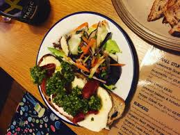 kitchen table with food. The Kitchen Table Cafe: Amazing Food!! Healthy, Very Tasty Complimented By A With Food
