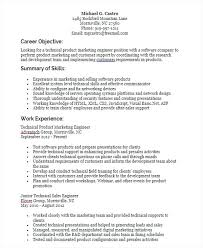 Examples Of Engineering Resumes Classy Sales And Marketing Resumes Skills For Resume Format Creerpro