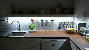 led tape lighting under cabinet lights kitchen battery strip for installing light