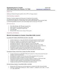 Test Engineer Resume Objective Qtp 1 Year Experience Resume Automation Test Engineer Sample Resume