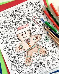 Christmas Coloring Paper Free Christmas Coloring Pages For Adults And Kids Happiness Is
