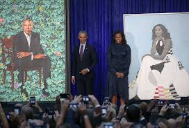 presidential portraits barack obama mice obama paintings unveiled at national portrait gallery the two way npr