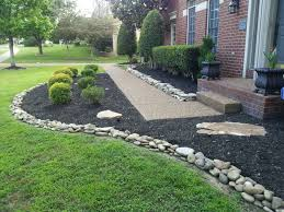 Decorative Stones For Flower Beds 17 Best Ideas About Stone Landscaping On Pinterest Rock Flower
