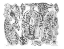 флэши египетской тематики татуировки Tattoo