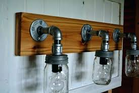 rustic bathroom light fixture rustic bathroom light fixture mason jar bathroom light rustic vanity lights bathroom