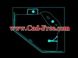 5 corner bathtub cad blocks