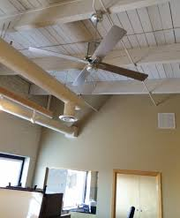 office ceiling fan. Featured Customer | Vintage Ceiling Fans Cool Office Space With Style Fan