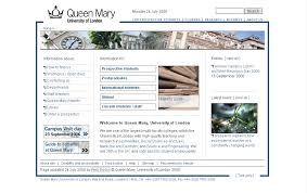Mary University - Project London Page Queen Web Home Team Of Its