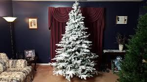 Vickerman Utica 7 5 Snow Flocked Christmas Tree Review