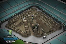 2019 Monster Energy Supercross Track Maps Supercross