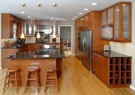 Top 35 Awesome Cherry Wood Kitchen Doors Dark Cupboard Black