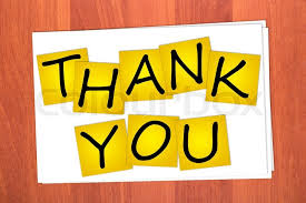 Word Thank You Word Thank You On Stickers Stock Photo Colourbox