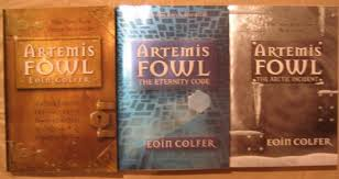artemis fowl the criminal mastermind collection books 1 3 box