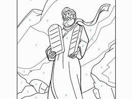 Free Catholic Coloring Pages Printables Awesome Ten Mandments