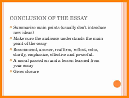 how to write a good conclusion for an english essay baby theresa how to write a good conclusion for an english essay