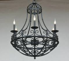 spanish style chandeliers outdoor lighting project