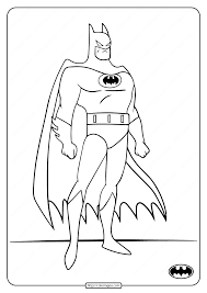 Share this free printable coloring pages for a variety of themes that you can print out and color. Printable Dc Superhero Batman Coloring Pages