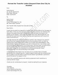 Letter Of Introduction Teacher Magnificent Sample Format For Transfer Letter Request From One Place To Another
