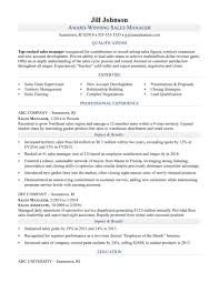Sales Manager Resume Template Download Manager Resume Sample Adorable Sales Manager Resume Sample Monster 23