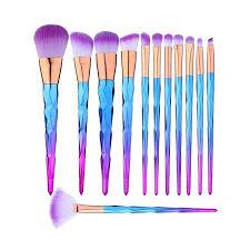 makeup amazon makeup brushes set 12 pieces premium colorful foundation blending blush eye face