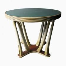 furniture art deco style. Vintage Wood \u0026 Glass Art Deco Style Table Furniture N